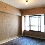 北側の居室はあえて塗装・壁紙などを施工しないフリーウォールにしました。お好きな色、柄に変えてお楽しみください。断熱もしっかり入っています。